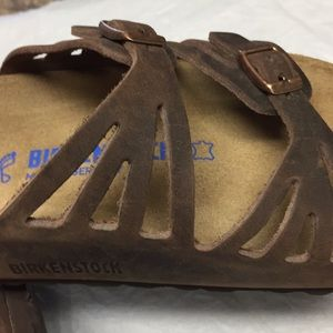 Birkenstock  soft footbed oiled leather (40) EU